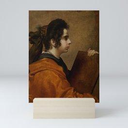 """Diego Velázquez """"A Sybil (Portrait of Juana Pacheco)"""" Mini Art Print"""