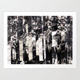 Catatonic Leisure at 1000 MPH Art Print