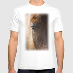 One Look Mens Fitted Tee White MEDIUM