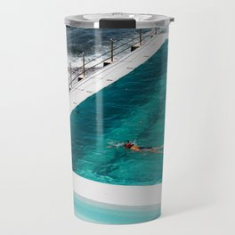 Bondi Icebergs Club I art print Travel Mug
