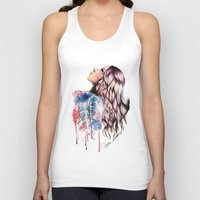 vogue Tank Tops featuring Teen Vogue by Tiko Meow