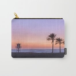 Serenity beach. Palms at the beach. Carry-All Pouch