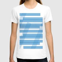 Electric Blue Slats T-shirt