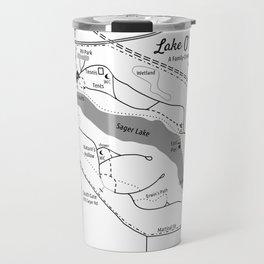 Lake O' The Woods Map O' The Grounds Travel Mug