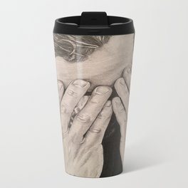 """Hands"" Jamie Dornan Travel Mug"