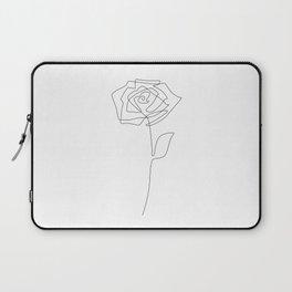 Single Rose Laptop Sleeve
