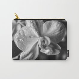 Orchid Black and white Photography | black-and-white | Spring | Easter Carry-All Pouch