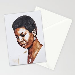 Nina Simone, Music Legend Stationery Cards