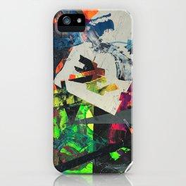 oblique glance iPhone Case