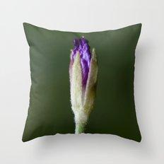 Purple Deduction Throw Pillow