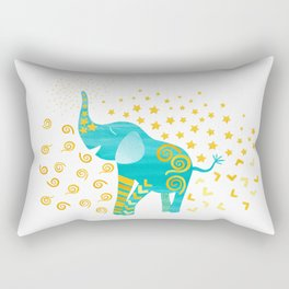 Lucky Elephant – Magic Villa Rectangular Pillow