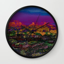 Spectacular Canyon Wall Clock