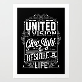 United Invision Art Print