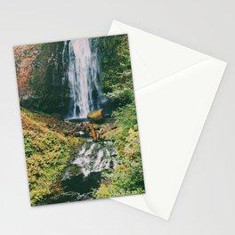 Multnomah Falls II, Portland, OR Stationery Cards