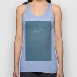 Airplane mode Unisex Tank Top