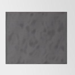 Soft Parisian Stripes Throw Blanket