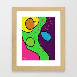Summer Jazz Framed Art Print