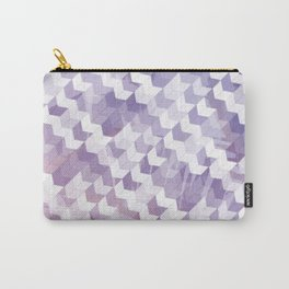 Abstract Geometric Cubes Design Carry-All Pouch