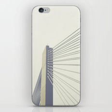 cable-stayed bridge iPhone & iPod Skin