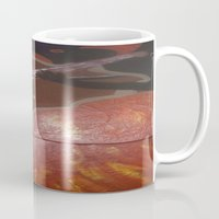 cello Mugs featuring Cello Played in (d)ea Minor  by Dea Paige