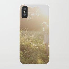 Meadow Fairy iPhone Case