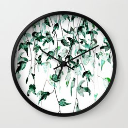Ivy on the Wall Wall Clock