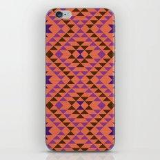 Tribal geometric pattern iPhone & iPod Skin