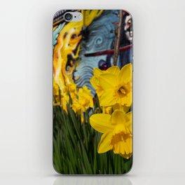 Shoreditch Daffs iPhone Skin