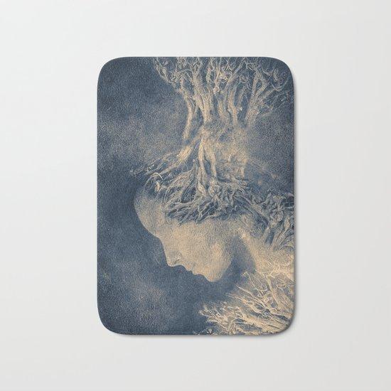 Dark portrait II  (colour option) Bath Mat