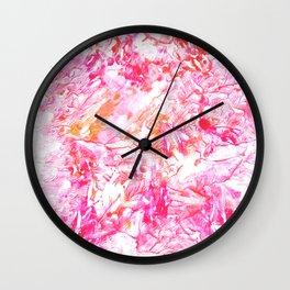 DELIGHT   monotype #1 Wall Clock