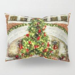The Town Christmas Tree Pillow Sham