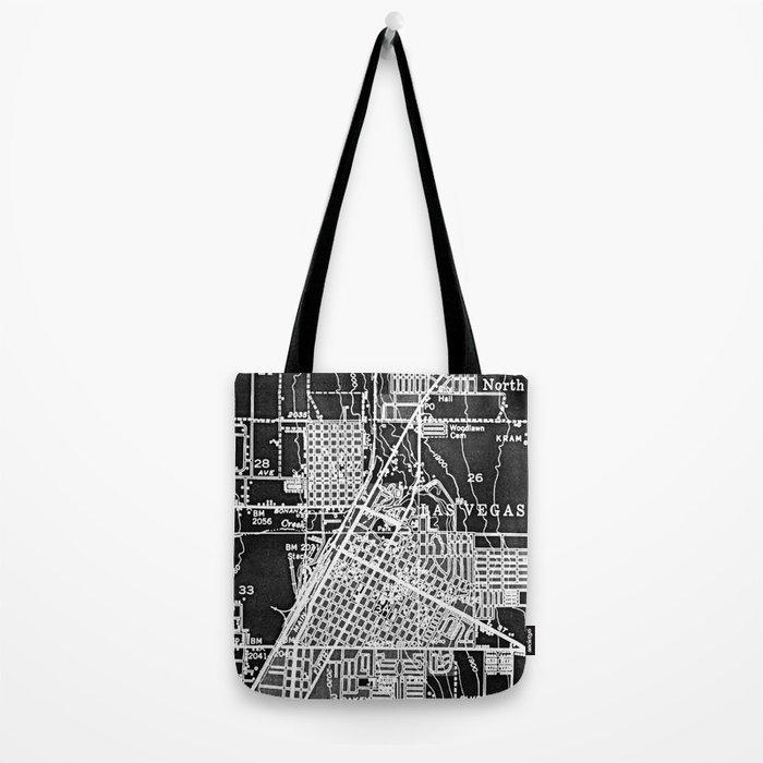 Vintage Las Vegas Tote Bag