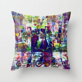 Safer after noon delicacies with in closure haven. Throw Pillow