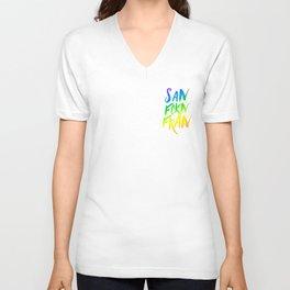 San FCKN Fran Pride Unisex V-Neck