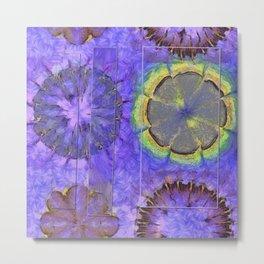Resistability Woof Flower  ID:16165-105348-97381 Metal Print