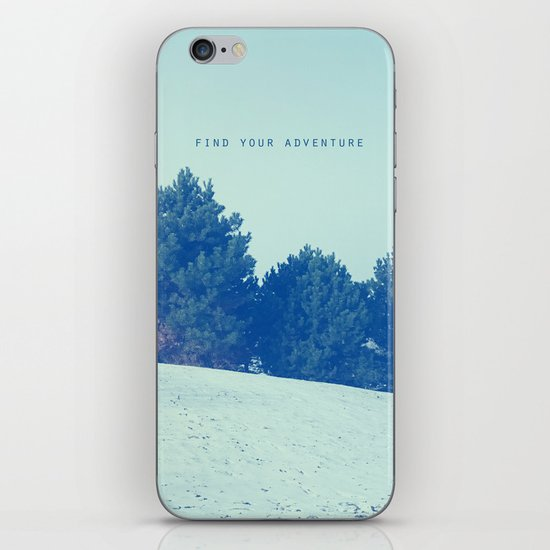 Find Your Adventure iPhone & iPod Skin