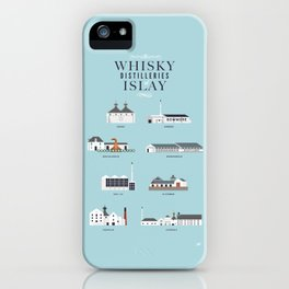 Whisky Distilleries of Islay iPhone Case