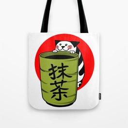 Matcha with Matcha Tote Bag