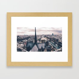 Notre Seine. Framed Art Print