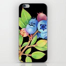 Wild Maine Blueberries iPhone Skin
