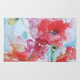 Poppies 04 Rug