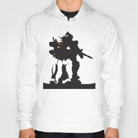 gundam Hoodies featuring Gundam RX-78-2 by Jason Weisbrot