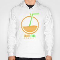 pocket fuel Hoodies featuring Fruit Fuel. by Novus.