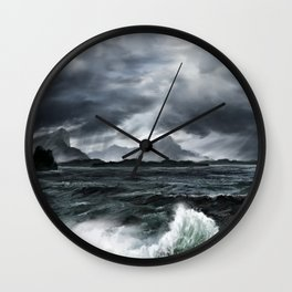 Oceanscape Wall Clock