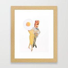 We Go Together Like... Framed Art Print