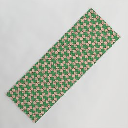 KEYAH - Green & pink Yoga Mat