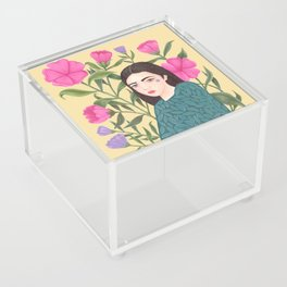 Leaves Acrylic Box