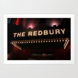 The Redbury Hotel Art Print