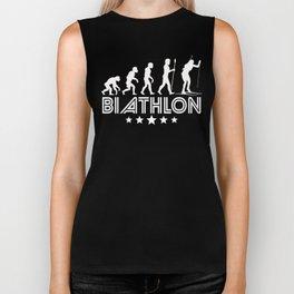 Retro Biathlon Evolution Biker Tank