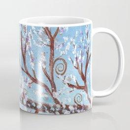 Watercolor Moonlight Illustration Coffee Mug
